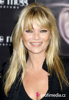 Acconciature delle star - Kate Moss