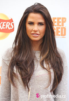 Acconciature delle star - Katie Price