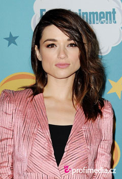 Acconciature delle star - Crystal Reed