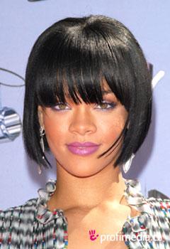 Účes celebrity - Rihanna