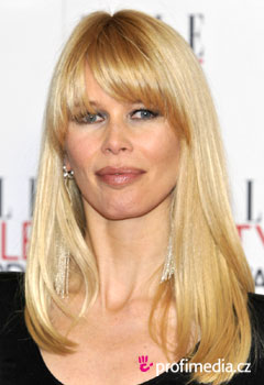 Coafurile vedetelor - Claudia Schiffer