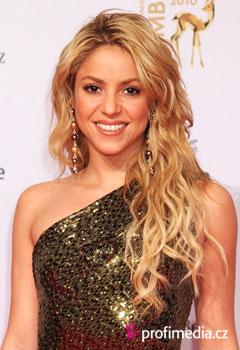 Účes celebrity - Shakira