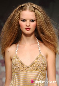 Peinados de famosas - Fashion shows Spring 2012