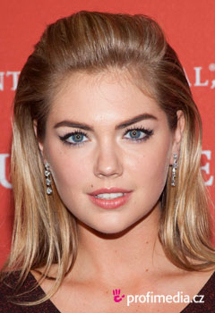 Acconciature delle star - Kate Upton