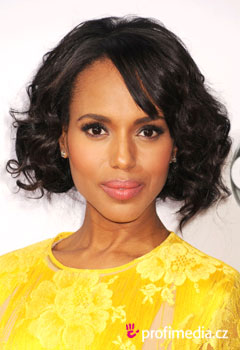 Účesy celebrit - Kerry Washington