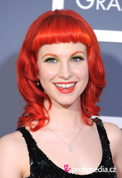 Coiffures de Stars - Hayley Williams
