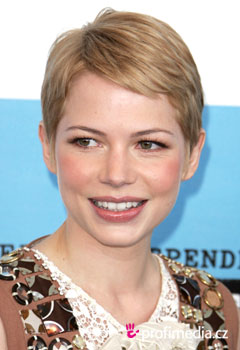 Coiffures de Stars - Michelle Williams