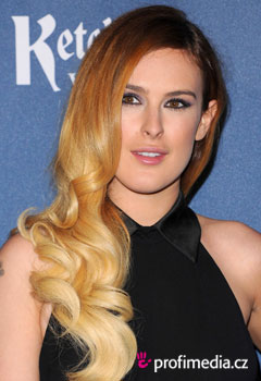 Acconciature delle star - Rumer Willis