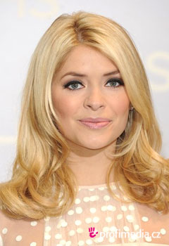 Acconciature delle star - Holly Willoughby