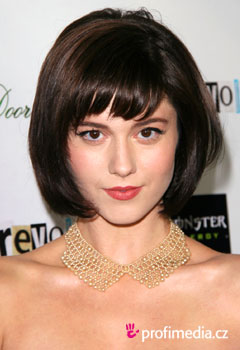 Acconciature delle star - Mary Elizabeth Winstead