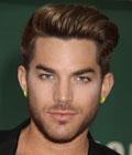 Fryzury gwiazd - Adam Lambert