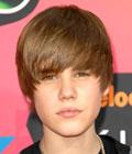Fryzury gwiazd - Justin Bieber