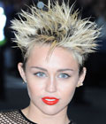 Celebrity hairstyle - Miley Cyrus
