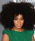 Fryzury gwiazd - Solange Knowles