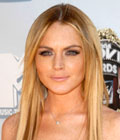 Účesy celebrit - Lindsay Lohan