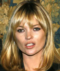 Fryzury gwiazd - Kate Moss