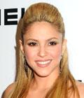 Peinados de famosas - Shakira