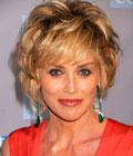 Coiffures de Stars - Sharon Stone