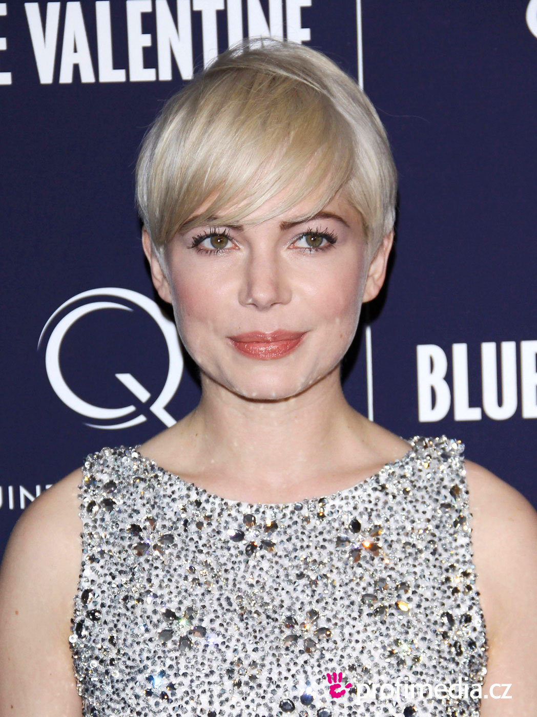 Prom hairstyle michelle williams michelle williams Mixed mens hairstyles