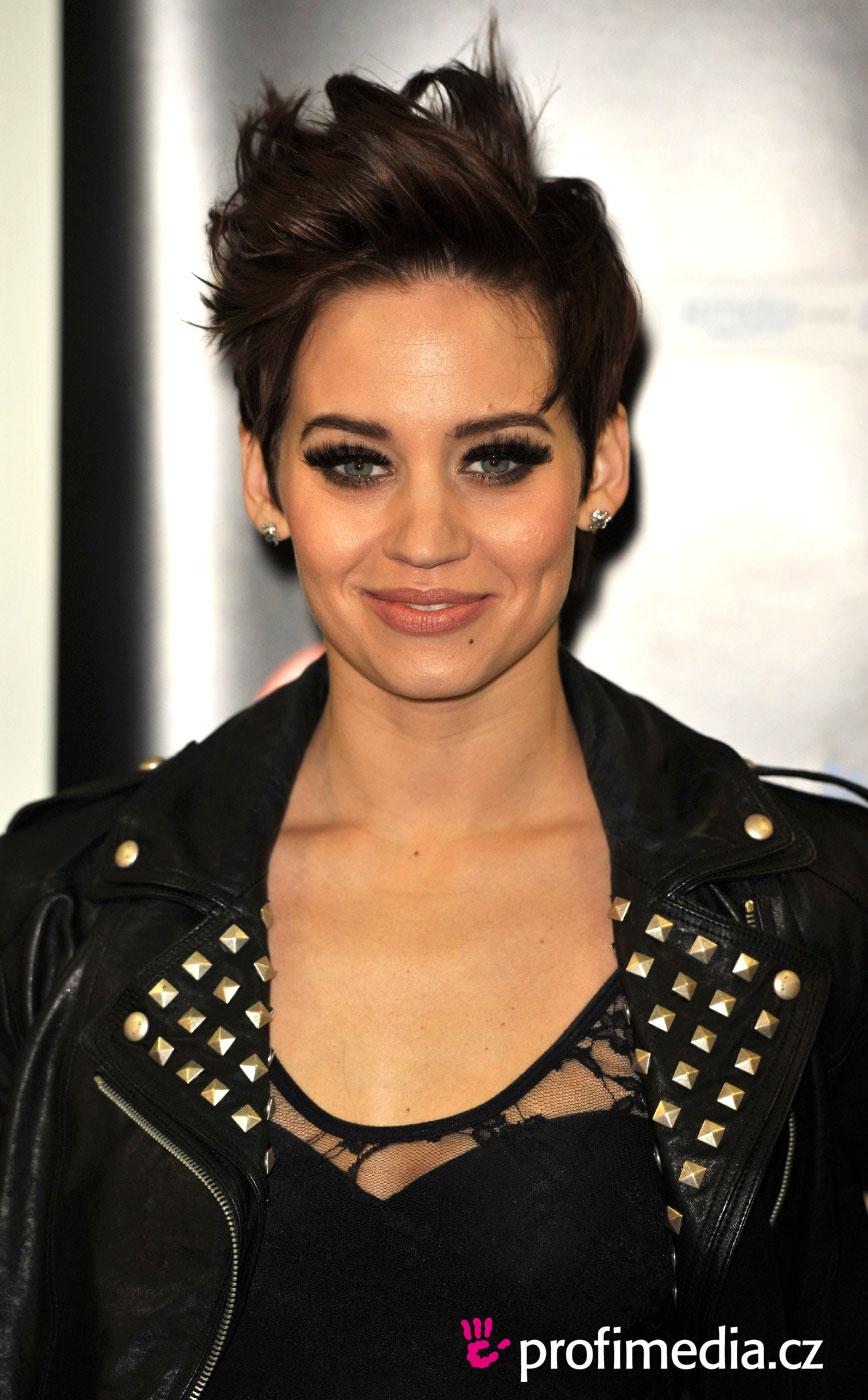Kimberly Wyatt Hairstyle Easyhairstyler