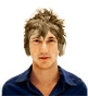 Hairstyle [774] - man hairstyle, medium hair wavy