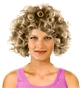 Hairstyle [353] - everyday woman, medium hair curly