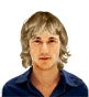 Hairstyle [718] - man hairstyle, medium hair wavy