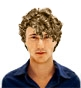 Hairstyle [943] - man hairstyle, medium hair curly