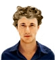 Hairstyle [977] - man hairstyle, medium hair wavy
