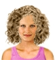 Hairstyle [202] - everyday woman, medium hair curly