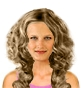 Hairstyle [207] - everyday woman, long hair wavy