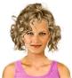 Fryzura [3144] - codzienna, włosy średnie kręcone