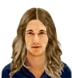 Hairstyle [8860] - man hairstyle, long hair wavy