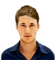 Hairstyle [9419] - man hairstyle, short hair straight
