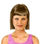 Hairstyle [9656] - everyday woman, medium hair straight
