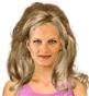 Fryzura [3165] - codzienna, długie włosy falowane