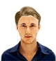 Hairstyle [10295] - man hairstyle, short hair straight