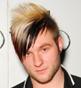 Fryzura [3286] - Blake Lewis, włosy krótkie proste