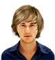 Hairstyle [2357] - man hairstyle, medium hair straight