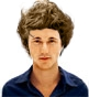 Hairstyle [2273] - man hairstyle, medium hair straight
