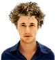 Hairstyle [2190] - man hairstyle, short hair curly