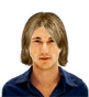Hairstyle [1343] - man hairstyle, medium hair wavy