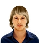 Hairstyle [1032] - man hairstyle, medium hair straight
