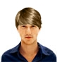Hairstyle [1069] - man hairstyle, medium hair wavy