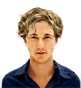Hairstyle [2226] - man hairstyle, medium hair wavy
