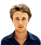 Hairstyle [2272] - man hairstyle, short hair wavy