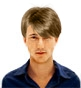 Hairstyle [2939] - man hairstyle, short hair straight