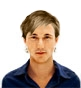 Hairstyle [1074] - man hairstyle, medium hair straight