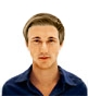 Hairstyle [1075] - man hairstyle, medium hair straight
