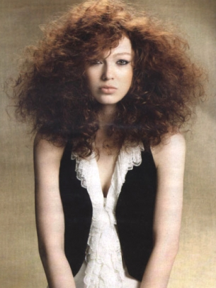 Kudrnaté vlasy - Střihy ze salónů